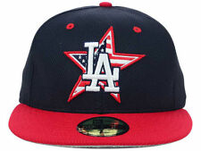 Official MLB Los Angeles Dodgers Stars Stripes Hat New Era 59FIFTY Fitted Cap