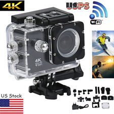 4K WIFI Waterproof Mini Action Cam HD DV Sports Camera Video Recorder Camcorder