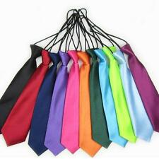 School Costumes Colorful Kids Toddler Necktie Elastic Tie Wedding Children Party