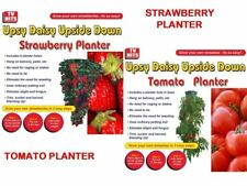 GROW YOUR OWN STRAWBERRY TOMATO PLANTER HANGING PLANTERS PLANT POT NEW FRUIT VEG