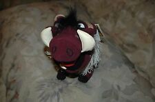"""Disney THE LION KING 10"""" PUMBAA Plush Stuffed Toy from the Broadway Musical NWT"""