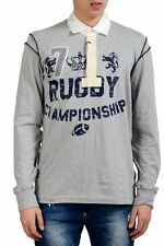Dolce & Gabbana Men's Long Sleeve Rugby Polo Shirt Size M L