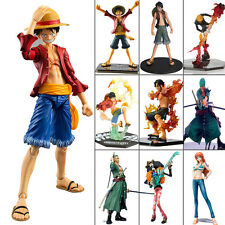 One Piece Luffy Nami Ace Sanji Zoro Character Mini Model Kit PVC Figure Figurine