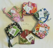 Vera Bradley MINI ZIP WALLET Snap Compact CARDS Coin for PURSE Tote BACKPACK NWT