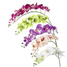 Artificial Butterfly Orchid Flower Plant Home Office Wedding Party Decoration