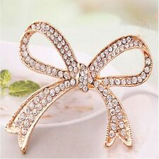 Color Finger Ring Rhinestone Rings Decorative Rings Big Bowknot Design Ring