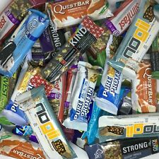 Assorted Brand - GLUTEN FREE - NUTRITION PROTEIN BARS, Quest, Kind, Pure Protein