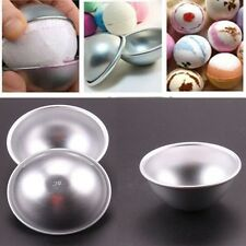 Practical Kitchen Pan Tin Baking 3D Aluminum Ball Cake Pastry Mould Bomb Mold