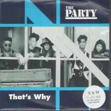 """PARTY (US GROUP) That's Why 7"""" VINYL UK Hollywood 1991 B/W Adult Decision"""