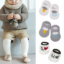 Animal Infant Baby Girls Boys Anti-slip Cartoon Rabbit Rat Bear Short Socks