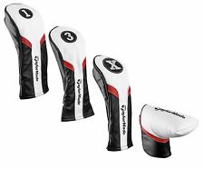 TaylorMade Golf 2017 Universal Club Head Covers - Driver Fairway Hybrid Putter