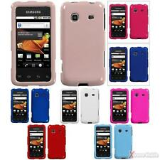 For SAMSUNG M820(Galaxy Prevail) Snap On Hard Case Cover Solid Colors