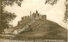 Tipperary Rock of Cashel b/w Old Irish Photo Print - Size Selectable - Ireland