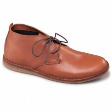 Padders JUDD Mens Leather Lace-Up Wide Fit (G) Casual Comfort Boots Tan Brown
