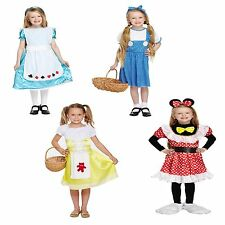 Girls Fancy Dress Alice Dorothy Goldilocks Mouse Girl Minnie World Book Day NEW