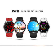 Round Screen Smart Watch Phone All-in-One Android 5.1 Quad Core WiFi GPS 3G