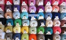RICO ESSENTIALS COTTON DK KNITTING/CROCHET YARN - ALL 54 SHADES IN STOCK