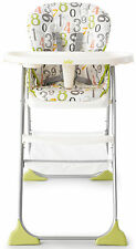Joie MIMZY SNACKER HIGHCHAIR Lightweight Folding Toddler/Baby Feeding - New