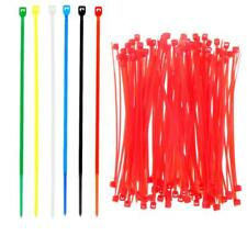 100pcs 100mm/150mm Nylon Wrap Cable Ties zip Ties Fasten Wire Lock Strap Tape