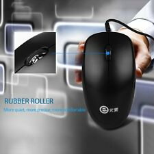 1000dpi Wired Optical Mouse Slim Mini Wired Mice USB for PC Laptop V400 Lot