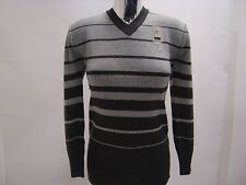 Ladies Girls Acrylic/Wool Knitted V Neck Long Sleeves Jumper One Size 8-12