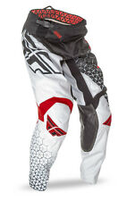 FLY Racing Kinetic Trifecta 2016 Youth MX/Offroad Pants Black/White/Red
