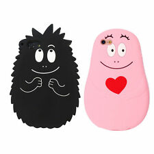 Soft Silicone Cute Angry Barbapapa Back Case Cover Skin For iPhone 6 6S 7 7Plus