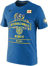 Nike F.C. Internazionale Milano Soccer Core Inter Milan Heritage T-Shirt NEW