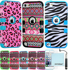 Hybrid Shockproof 3 in 1 Case Cover For Apple iPod Touch 5th 6th Gen Generation