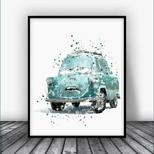 Disney Cars Professor Z Disney Pixar Cars Poster Disney Wall Art Disney Nursery