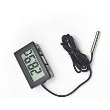 Digital LCD Thermometer New Buttery Temperature Meter Probe Refrigerator Freezer