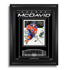 CONNOR MCDAVID Edmonton Oilers Rexall Place - Archival Etched Glass™