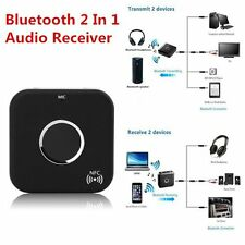 Promotion Bluetooth 2 In 1 Audio Receiver Transmitter 3.5mm Stereo Port LOT JK
