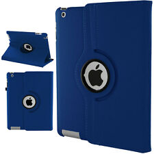 360 Degree Rotating Leather Cover Premium Case For Apple iPad 2 3 4 Air Mini Pro