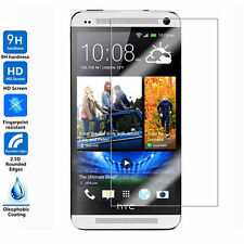 2pcs x 9H Premium Tempered Glass Screen Cover Protector Guard For HTC phone NEW