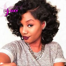 Human Hair Short Curly Full Lace Wigs Glueless Curly Lace Front Human Hair Wigs