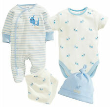 ВNWT NEXT Babygrows Playsuits • Boys Gift Pack Sleepsuits • 100% Cotton • 0-3m