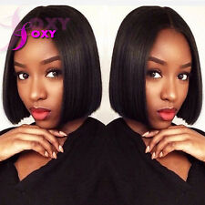 Human Hair Bob Full Lace Wigs Short Bob Glueless Human Hair Lace Front Bob Wigs