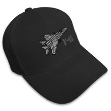F-15 Aircraft Name Embroidery Embroidered Adjustable Hat Cap