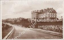 Cornwall Falmouth Hotel & Cliff Drive Old Photo Print - Size Select - England