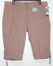 NWT Lee Relaxed Fit More Comfort Mid Rise Stretch Skimmer Capri Pants 20W 24W