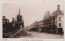 Bedfordshire Leighton Buzzard The Cross b/w Old Photo Print - England