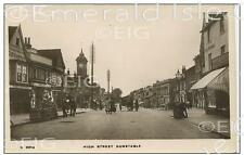 Bedfordshire Dunstable early Photo Print of the High Street - Size Select
