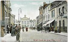 Bedfordshire Luton George St and the Town Hall Old Photo Print