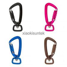 Carabiner Hook Buckle Clip Rotating Ring Outdoor Camping Hiking Backpack Hook