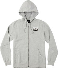RVCA Red Patch Zip-Up Hoodie Mens