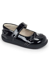 See Kai Run Adeline Toddler Girls Black Patent Leather Mary Jane Shoes