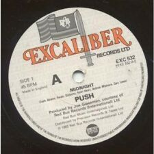 """PUSH (LATE 70'S/EARLY 80'S GROUP) Midnight 7"""" VINYL UK Excalibur 1983 B/w Who's"""