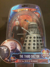 DOCTOR (DR) WHO FIGURE TWIN PACK WITH DALEK - BRAND NEW, SEALED AND RARE!