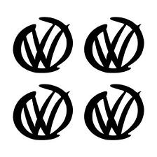 4 x Vw car sticker funny decal / sticker for car window